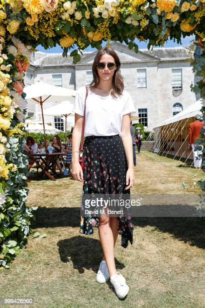 Charlotte Wiggins attends Cartier Style Et Luxe at The Goodwood Festival Of Speed Goodwood on July 15 2018 in Chichester England