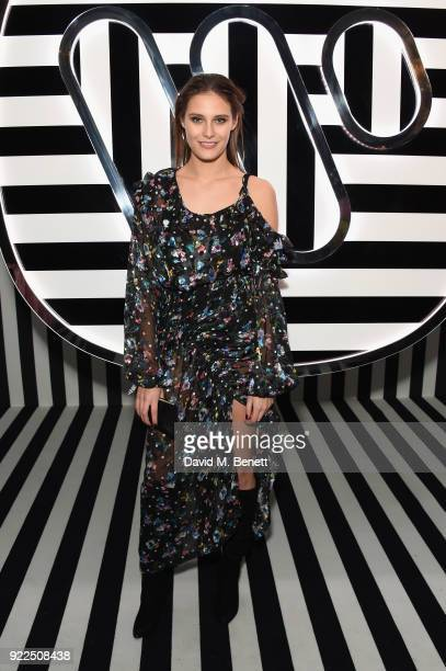 Charlotte Wiggins attends the Brits Awards 2018 After Party hosted by Warner Music Group Ciroc and British GQ at Freemasons Hall on February 21 2018...