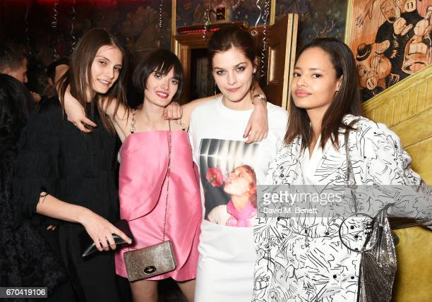 Charlotte Wiggins Sam Rollinson Amber Anderson and Malaika Firth attend as The Box celebrates its six year anniversary with original Box MC Raven O...
