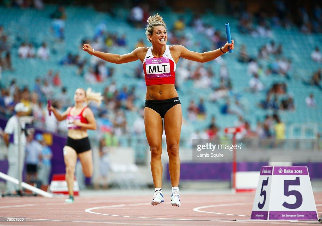 Athletics - Day 9: Baku 2015 - 1st European Games : News Photo