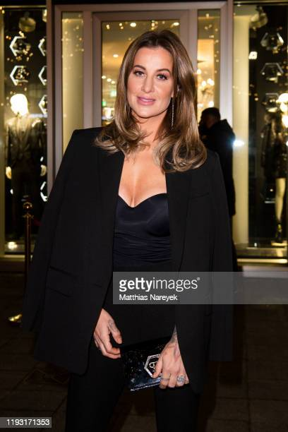"Charlotte Würdig attends the launch of the new fragrance ""The Skull"" by Philipp Plein on December 10, 2019 in Berlin, Germany."