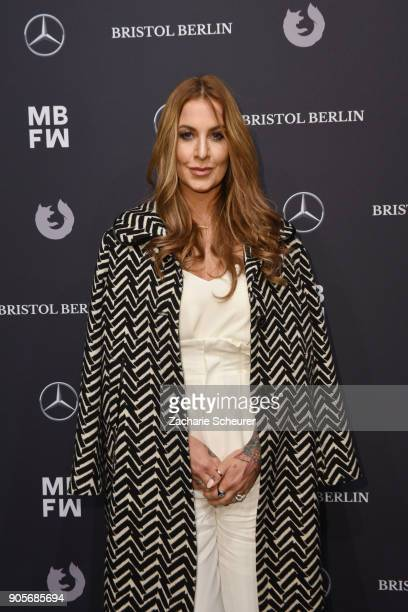 Charlotte Wuerdig attends the Riani show during the MBFW Berlin January 2018 at ewerk on January 16, 2018 in Berlin, Germany.