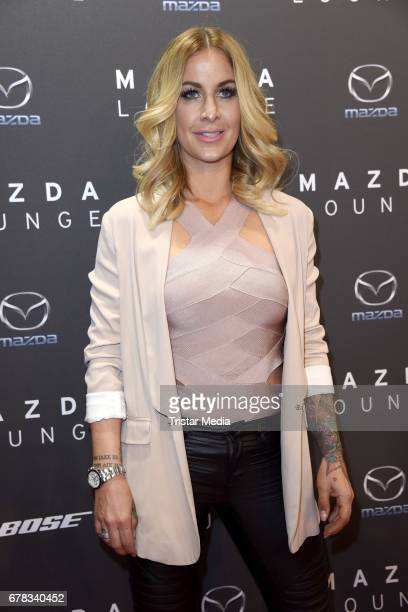 Charlotte Wuerdig attends the spring cocktail hosted by Mazda and InTouch magazine at Mazda Lounge on May 3, 2017 in Berlin, Germany.