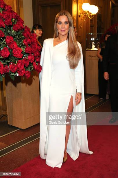Charlotte Wuerdig during the 14th Semper Opera Ball 2019 at Semperoper on February 1, 2019 in Dresden, Germany.