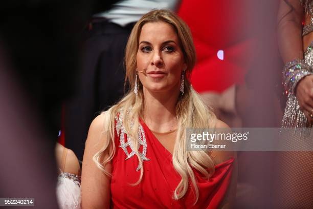 Charlotte Wuerdig during the 6th show of the 11th season of the television competition 'Let's Dance' on April 27, 2018 in Cologne, Germany.