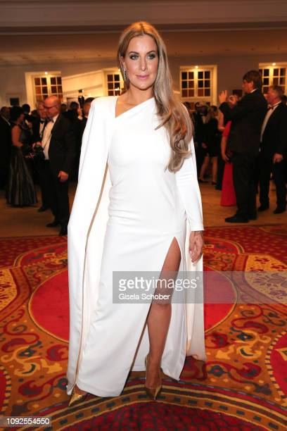 Charlotte Wuerdig during the Semper Opera Ball 2019 reception at the Taschenbergpalais near Semperoper on February 1, 2019 in Dresden, Germany.
