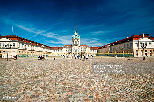 charlottenburg castle, berlin - charlottenburg palace stock pictures, royalty-free photos & images