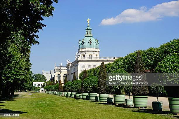 charlottenburg palace, berlin, germany, europe - charlottenburg palace stock pictures, royalty-free photos & images