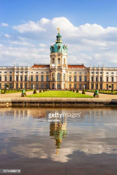 charlottenburg palace garden in berlin germany - charlottenburg palace stock pictures, royalty-free photos & images