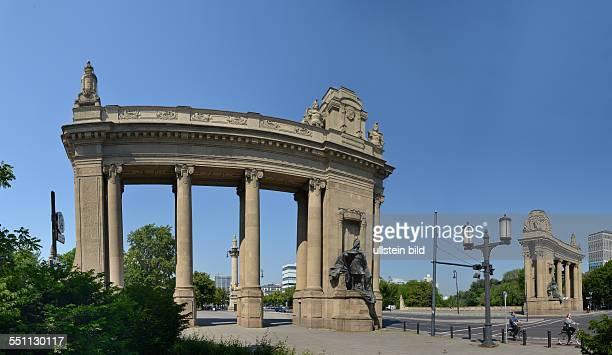 Charlottenburger Tor Strasse des 17 Juni Charlottenburg Berlin Deutschland