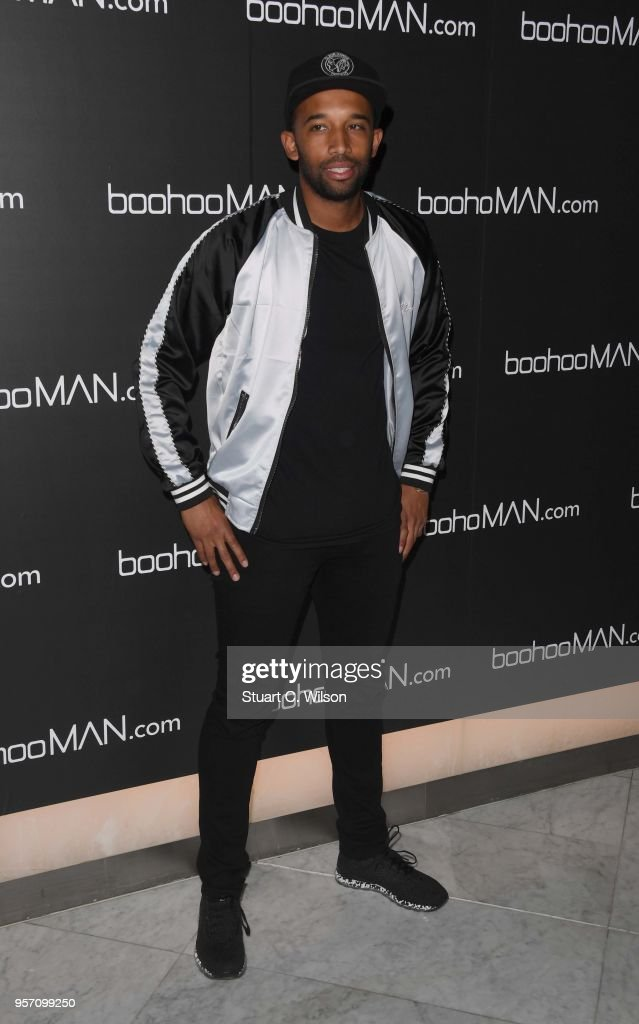 DJ Charlsey attends the boohooMAN by Dele Alli VIP launch at ME London on May 10, 2018 in London, England.