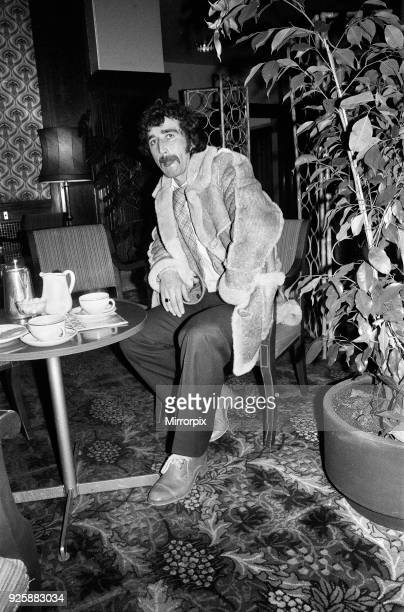Charlton Athletic footballer Derek Hales pictured having tea after having a meeting at a Paddington hotel He was appearing before the Football League...