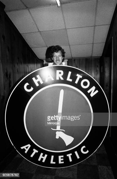 Charlton Athletic footballers in training for the last time at the Valley Ground before their move to Selhurst Park. Pictured is Mick Flanagan on...