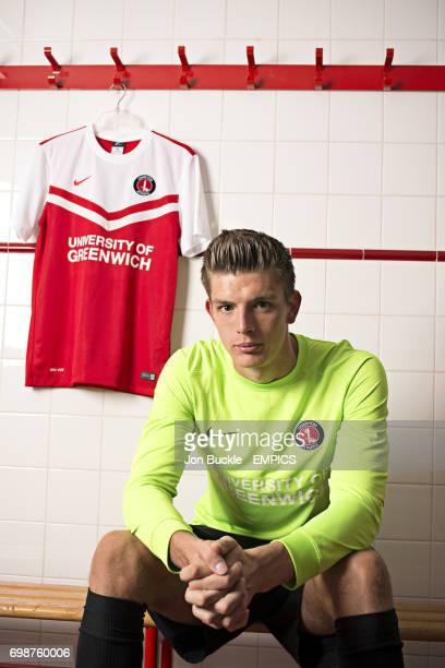 Charlton Athletic goalkeeper Nick Pope