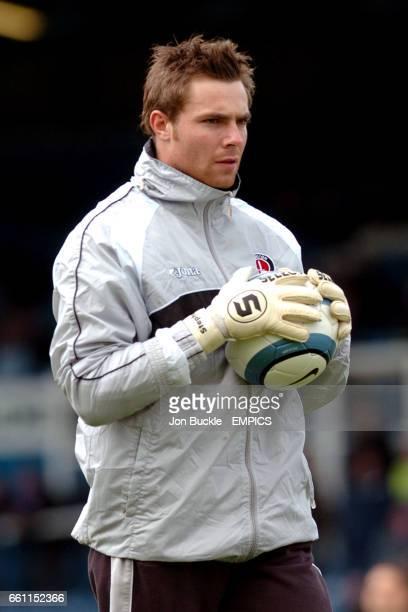 Charlton Athletic goalkeeper Stephen Andersen