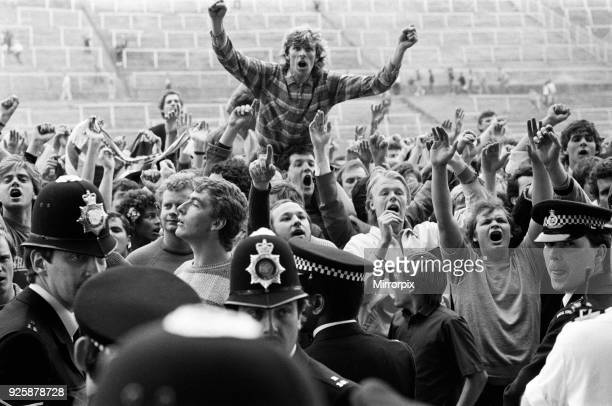 Charlton Athletic last match at the Valley Ground before their move to Selhurst Park Charlton Athletic defeated Stoke City 20 Fans protest inside the...