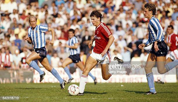 Charlton Athletic player Robert Lee in action during a League Division One match against Coventry City at Selhurst Park on September 20, 1986 in...