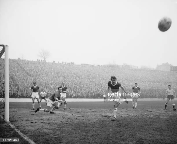 Charlton Athletic v Derby County 27th January 1962