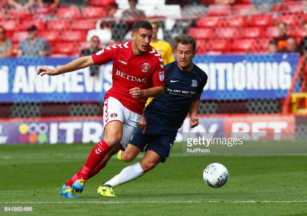 Charlton Athletic's Ahmed Kashi during Sky Bet League One match between Charlton Athletic against Southend United at The Valley Stadium London on 09...
