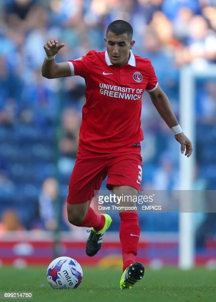 Charlton Athletic's Ahmed Kashi