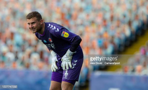 Charlton Athletic's Dillon Phillips during the Sky Bet Championship match between Leeds United and Charlton Athletic at Elland Road on July 22 2020...