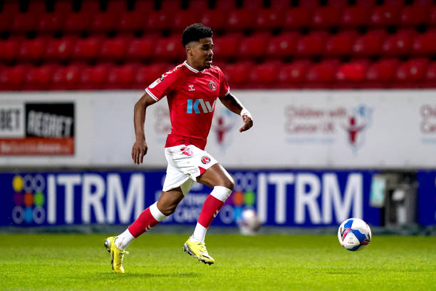 Charlton Athletic's Ian Maatsen during the Sky Bet League One match at The Valley, London. Picture date: Tuesday March 9, 2021.