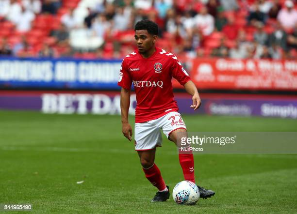 Charlton Athletic's Jay Dasilva during Sky Bet League One match between Charlton Athletic against Southend United at The Valley Stadium London on 09...