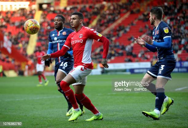 Charlton Athletic's Karlan Grant Charlton Athletic v Walsall Sky Bet League One The Valley