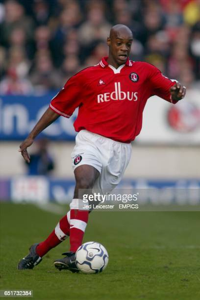 Charlton Athletic's Richard Rufus in action against Bolton
