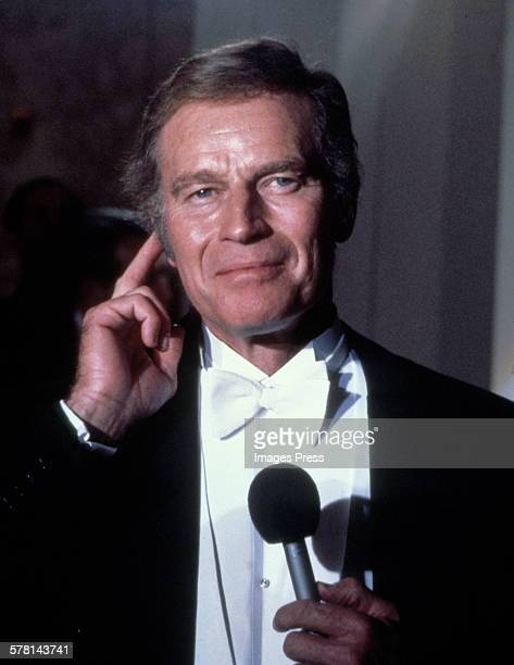 Charlton Heston circa 1982 in New York City