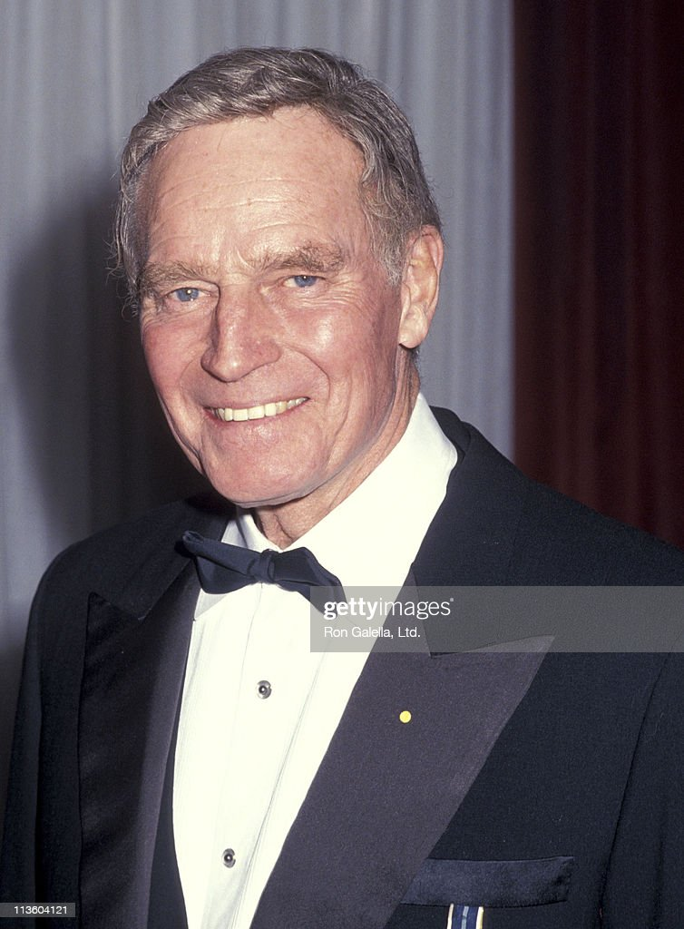 Charlton Heston during 7th Annual Martin Luther King Ambassadorial Award at Sheridan Center in New York City, New York, United States.