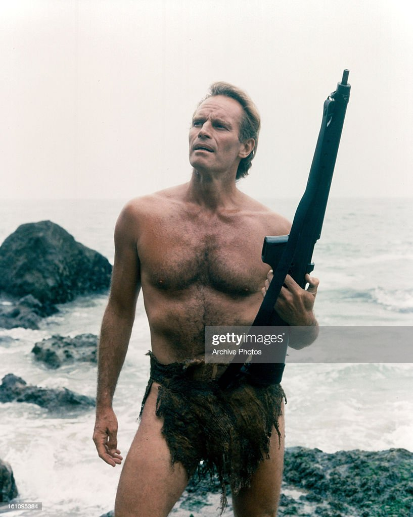 Charlton Heston In 'Planet Of The Apes' : News Photo