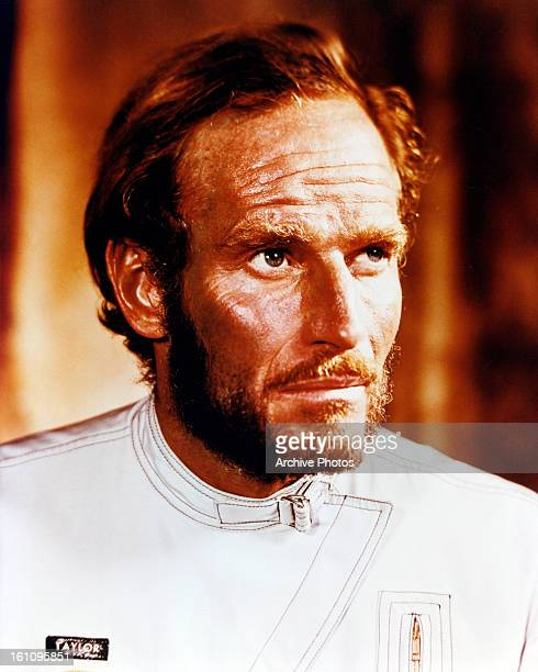 Charlton Heston in a scene from the film 'Planet Of The Apes' 1968