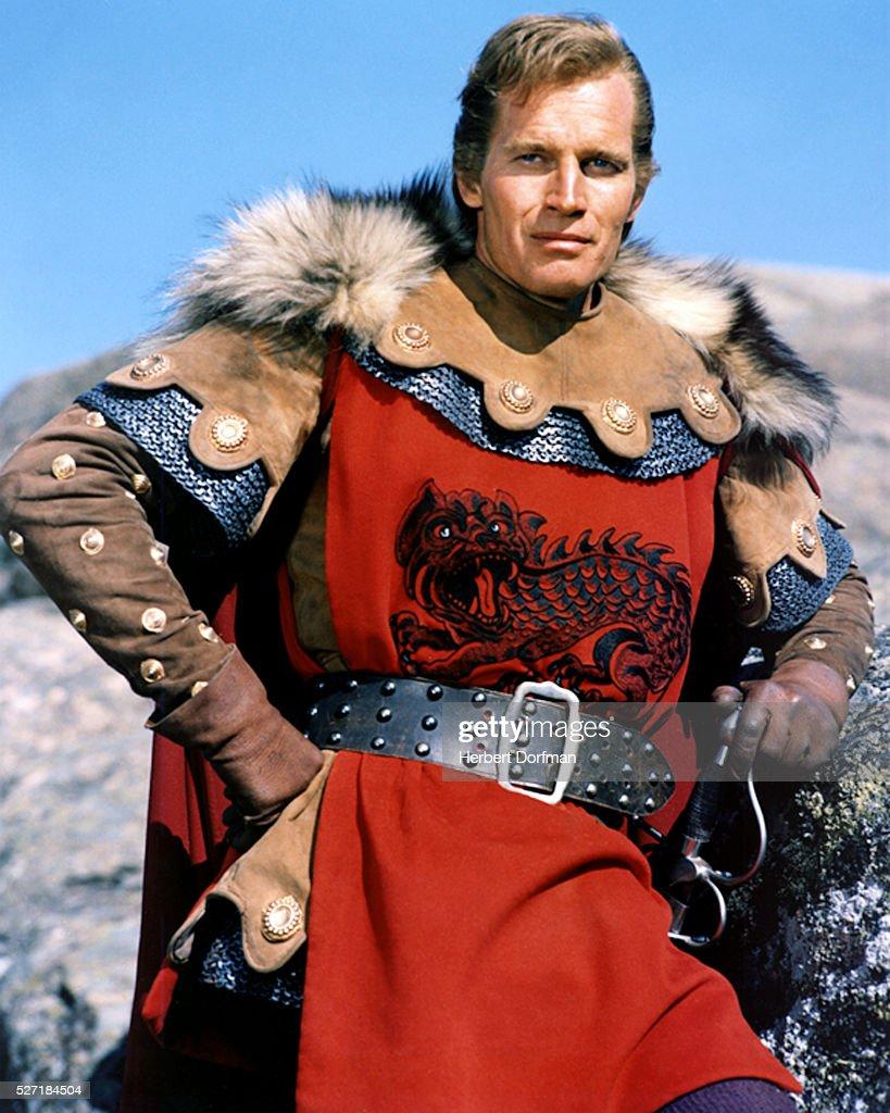 Charlton Heston in El Cid : News Photo