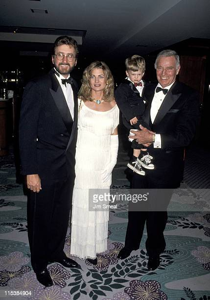 Charlton Heston son Fraiser Heston with wife Marilyn and son Jack