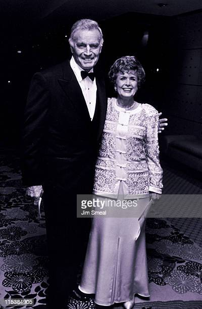 Charlton Heston Wife Lydia during 50th Anniversary Party For Charlton Heston and Lydia Heston at Hotel Nikko in Beverly Hills California United States