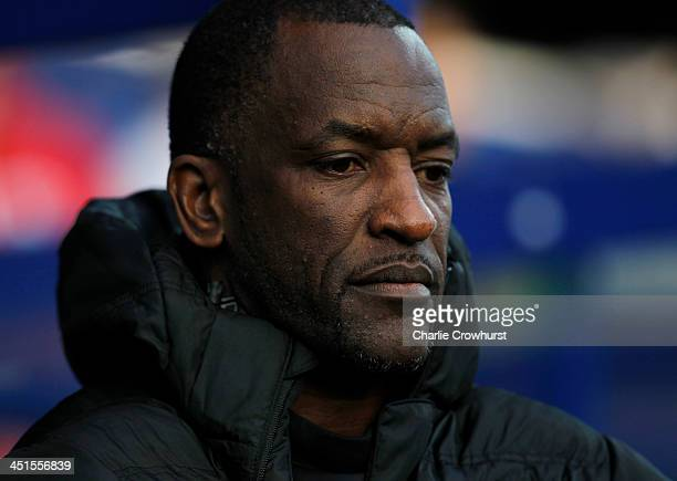 Charlton manager Chris Powell during the Sky Bet Championship match between Queens Park Rangers and Charlton Athletic at Loftus Road on November 23...