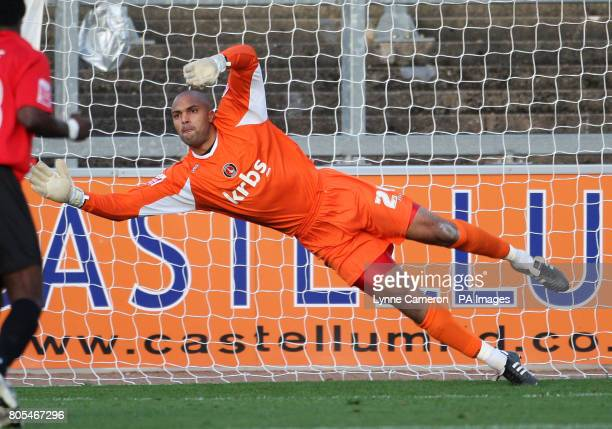 Charlton's Carl Ikeme during the CocaCola League One match at Brunton Park Carlisle Picture date Saturday October 31 2009