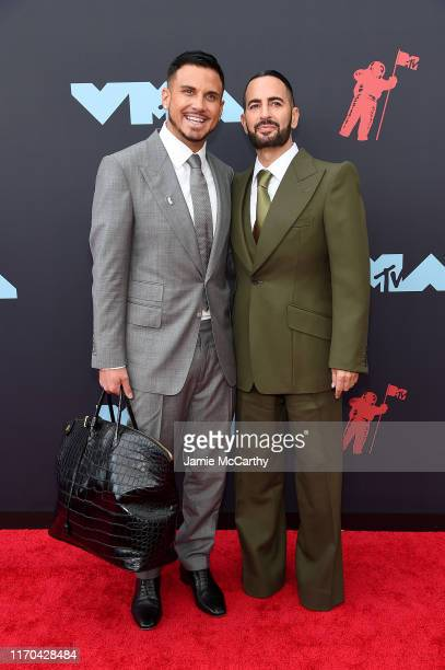 Charly Defrancesco and Marc Jacobs attend the 2019 MTV Video Music Awards at Prudential Center on August 26, 2019 in Newark, New Jersey.