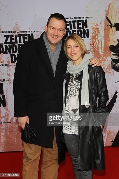 Charly Hübner And Anneke Kim Sarnau at the World Premiere Of The film Bushido at Potsdamer Platz in Berlin
