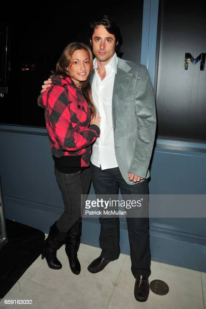 Charly Michelle and Lorenzo Borghese attend VIVIENNE TAM Fall 2009 Collection and After Party at VIVIENNE TAM BOUTIQUE on February 18 2009 in New...