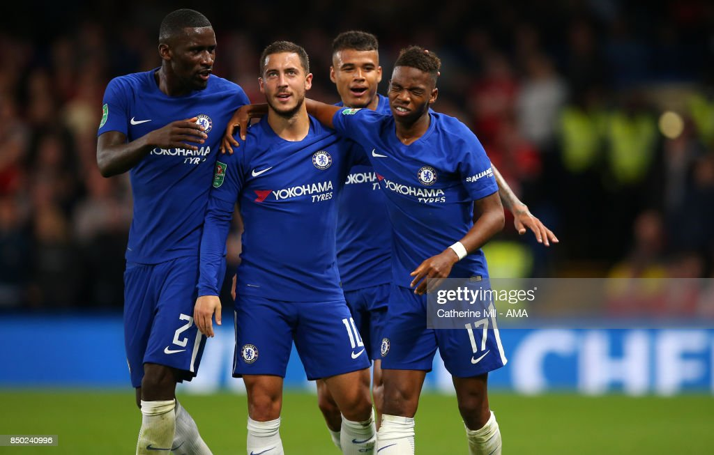 Chelsea v Nottingham Forest - Carabao Cup Third Round : News Photo