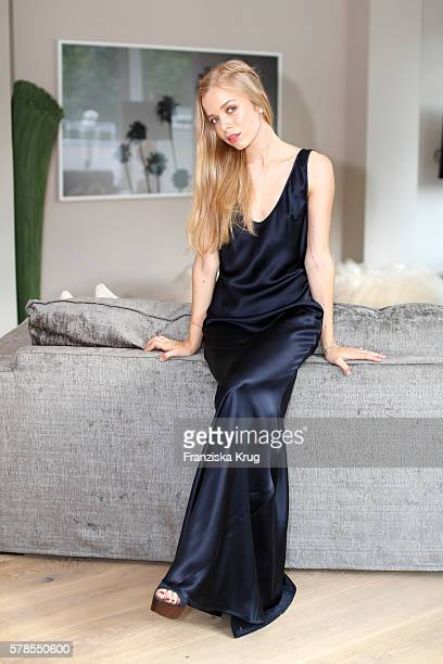 Charly Sturm attends the 'Dr Barbara Sturm NetAPorter' Dinner Party on July 21 2016 in Munich Germany