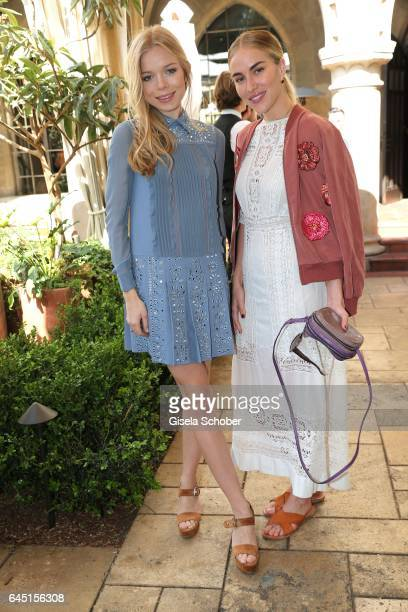 Charly Sturm daughter of Barbara Sturm and Beth Whitson during the NetAPorter lunch at hotel Chateau Marmont on February 24 2017 in Los Angeles...