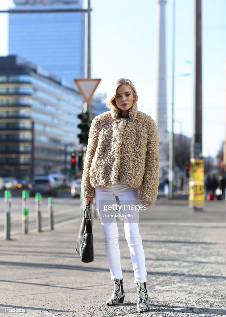 Street Style - Berlin - February 08, 2019 : News Photo