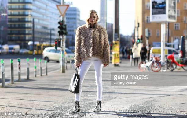 Charly Sturm wearing Closed pants and jacket, Paris Texas shoes, Stella McCartney bag, Chromehearts and Maria Tash earrings, Margova, Cartier and...
