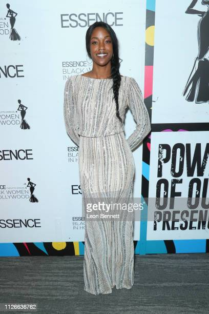 Charmaine Lewis attends the 2019 Essence Black Women in Hollywood Awards Luncheon at Regent Beverly Wilshire Hotel on February 21 2019 in Los Angeles...