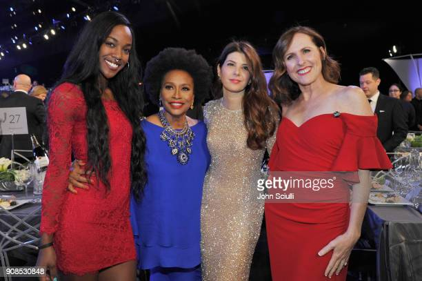 Charmaine Lewis Jenifer Lewis Marisa Tomei and Molly Shannon attend the 24th Annual Screen Actors Guild Awards at The Shrine Auditorium on January 21...