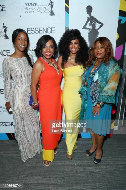 Charmaine Lewis Sheryl Lee Ralph Essence Chief Content Creative Officer Moana Luu and Loretta Devine attend the 2019 Essence Black Women in Hollywood...