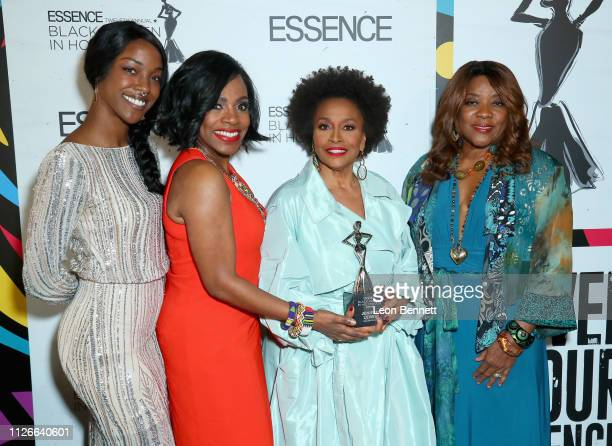 Charmaine Lewis Sheryl Lee Ralph Jenifer Lewis and Loretta Devine attend the 2019 Essence Black Women in Hollywood Awards Luncheon at Regent Beverly...